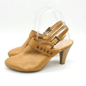 Glove Hispanitas Leather Heel Mules Slingbacks